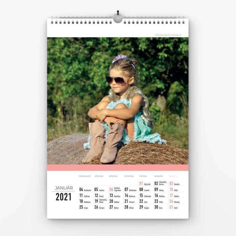 Nástenné kalendáre A4